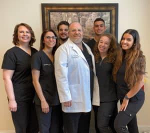 Dr. Arthur Zacco and staff